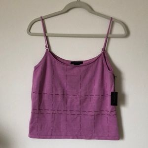 The Limited silk stretch camisole/tank top